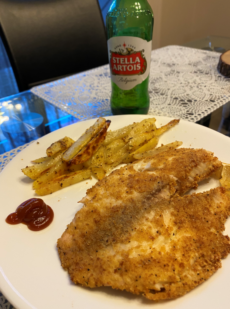 Nitesh Oven Fish and Chips