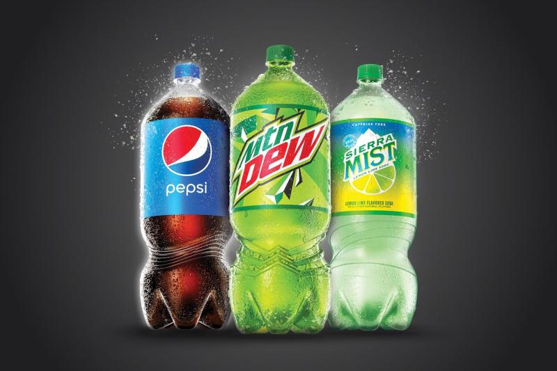 Pepsi 2 liter bottle