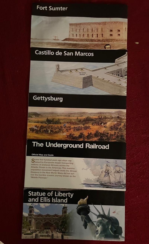 National Parks Brochures