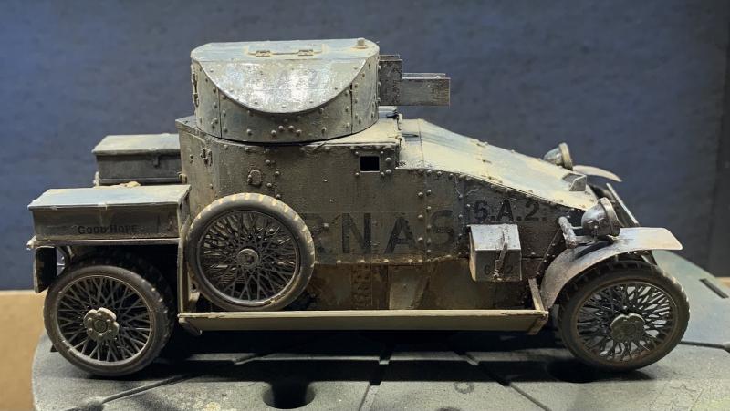 RNAS WWI British armored car