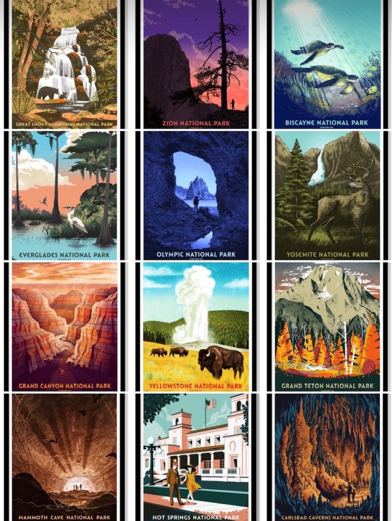 National Parks montage 1
