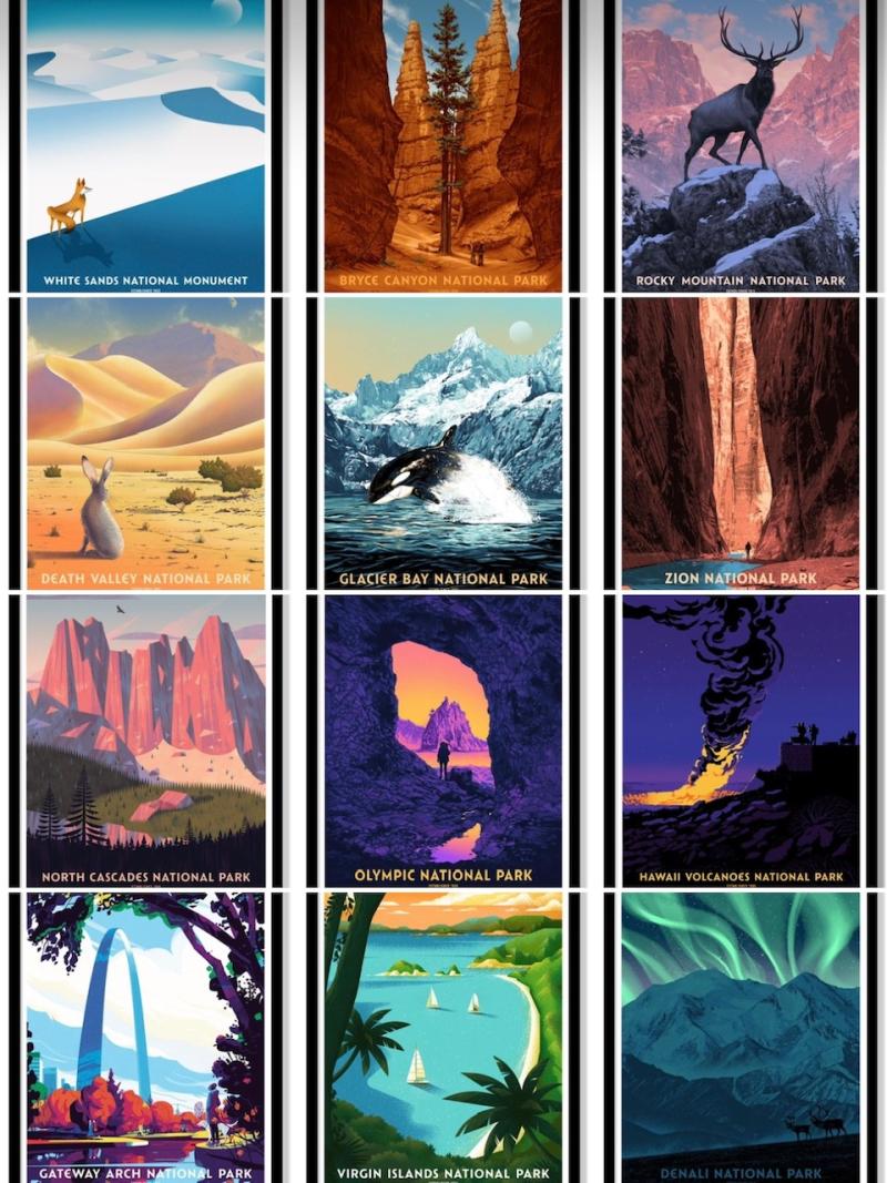 National Parks montage 2